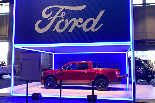 2022 Ford Maverick at Chicago Auto Show