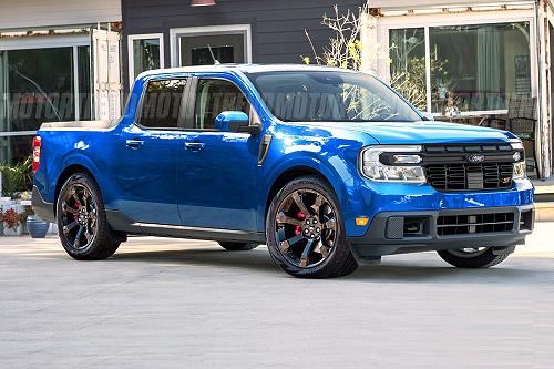 2022 Ford Maverick ST