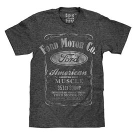 Ford Motor Co. American Made Muscle T-Shirt – Soft Touch Fabric