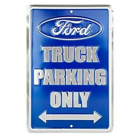 HangTime Ford Truck Parking Only Metallic Blue