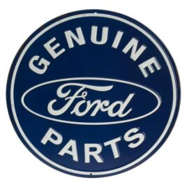 Ford Genuine Parts Round Embossed Sign